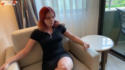 Redhead Cam Girl Fucked And Cum Swallowing