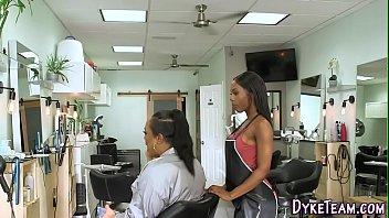 Black Girl Hair Stylists Lesbian Interracial Pussy Eating